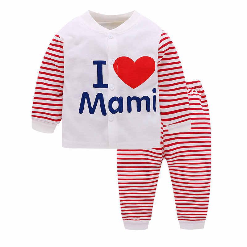Детские пижамы с 14 рисунками пижамы с рисунками из мультфильмов для малышей пижамы с буквенным принтом для маленьких мальчиков и девочек весенне-осенняя хлопковая одежда для младенцев из 2 предметов