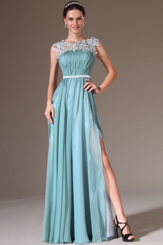 2015 Custom Made New Design Fashionable Light Blue Color Formal ...