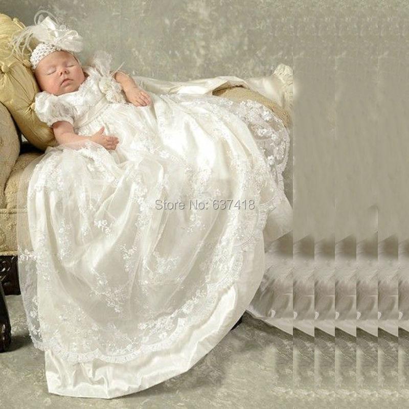 Adorable Toddler Baby Girl Boy Baptism Gowns for Girls Flower Girl ...