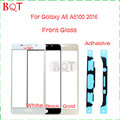 Новый A510F Стекла для Samsung Galaxy A5 A510 2016 Сенсорным Экраном Дигитайзер Переднее Стекло Объектива С Клеем