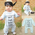 2016 Autumn Baby Boy Girls Clothes Long Sleeve Jumpsuit Outfits
