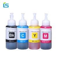 4 pces 70ml recarga tinta corante compatível para epson l800 l801 l100 l110 l111 l211 l211 l300 l312 l355 l350 l362 l366 l550