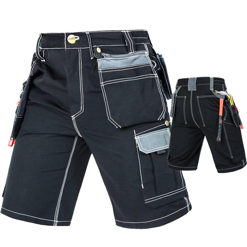 Pantalones de trabajo multibolsillos duraderos para Hombre Pantalones cortos de trabajo cargo para hombre Pantalones de trabajo de Ropa de Trabajo para hombre, pantalones de trabajo negros, ropa de trabajo para hombres, envío gratis