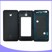 Original for Asus zenfone 4 A400CG full complete housing back battery cover + faceplate/ front plate + middle frame