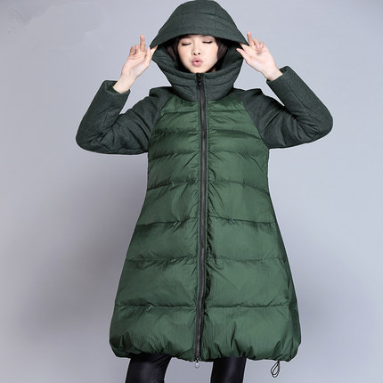 Aliexpress.com : Buy Army Green Female Winter Jacket Medium Long