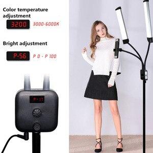 Image 5 - GSKAIWEN 40W LED Photographic Light Dimmable 3000 6000K Makeup Beauty Light Eyebrow Tattoo Lamp  Studio Video Light with Tripod