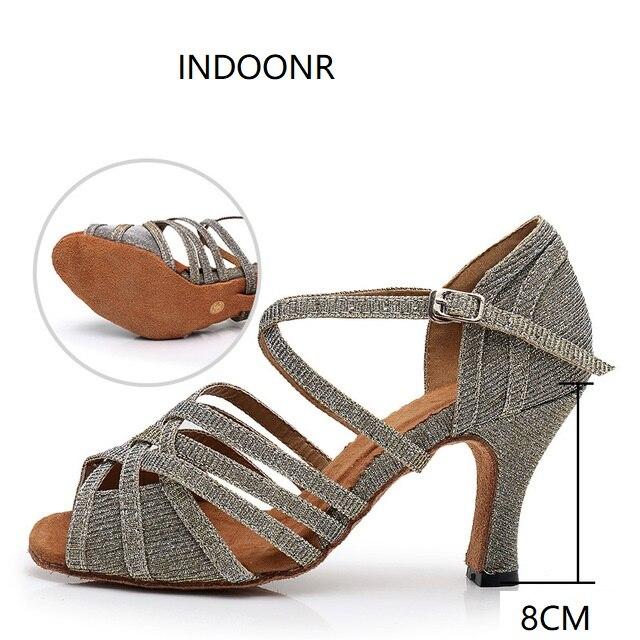 Sneakers Latin Dance Shoes Woman Female Adult New Ballroom Dancing Shoes Sports Ballroom Women Shoes Soft Bottom