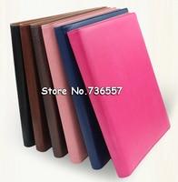 office a4 PU leather portfolio business executive padfolio classification folder document clip holder pen loop