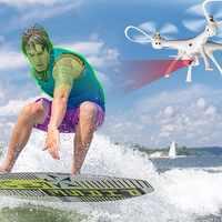 ATTOP W8 2.4G RC Dron עם 720/1080 P מצלמה 4CH 6 ציר Quadrocopter מיני מובנה GPS בלי ראש מצב אחיזת גובה Wifi FPV מזלט