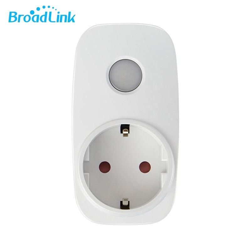 imágenes para [Estándar de LA UE] BroadLink SP3 SPcc Contros Mini WiFi LED Socket Casa Inteligente Interruptor de Sincronización Enchufe Temporizador Remoto Inalámbrico controlador
