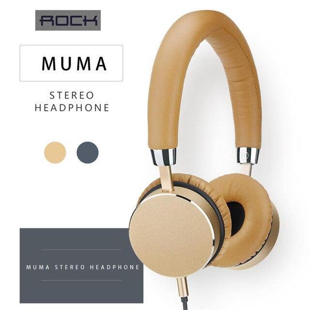 New 100 Original Rock Brand Top Quality Muma Hi Fi Stereo Casque