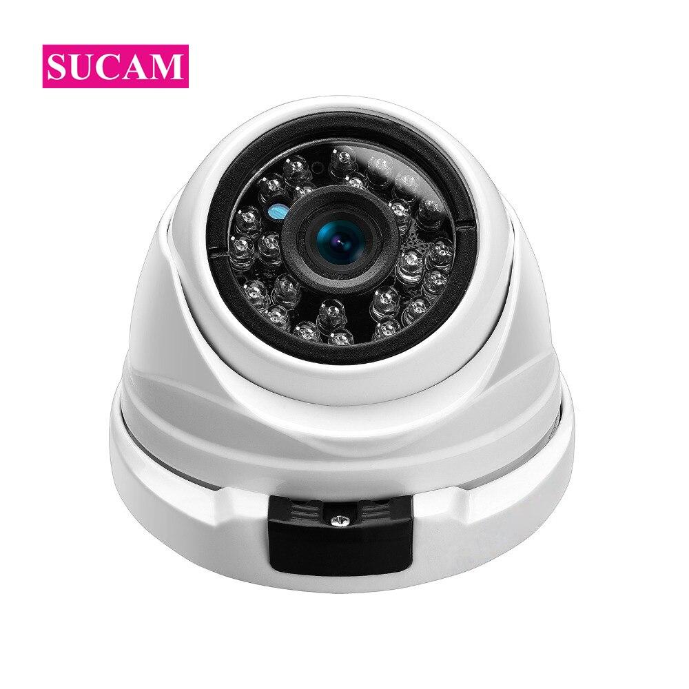 SUCAM Haute Résolution 5MP AHD Caméra De Surveillance 2560*2048 3.6mm Sony 326 Sécurité Analogique Caméra Infrarouge avec 24 pièces Led IR