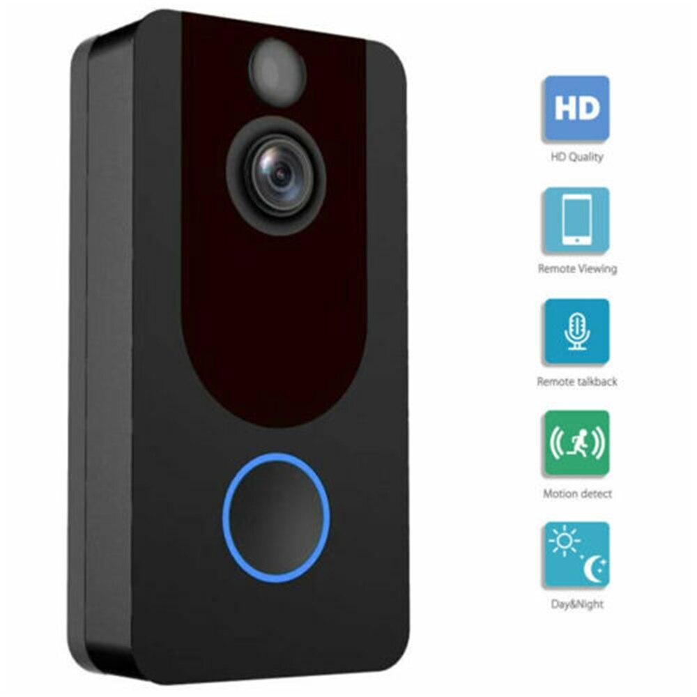 Smart WiFi Wireless Video Doorbell Two-Way Talk Smart Door Bell Security Camera 1080P Home Security MonitoringSmart WiFi Wireless Video Doorbell Two-Way Talk Smart Door Bell Security Camera 1080P Home Security Monitoring