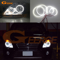 For Honda CR V CRV 2005 2006 Headlight Excellent Ultra Bright Illumination Smd Led Angel Eyes