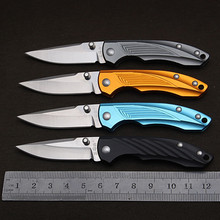 super light mini folding knife swiss knife pocket knife Aviation aluminum handle