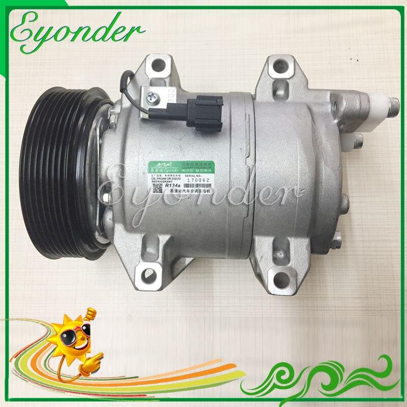 DKS17D Автомобильный Компрессор AC/C охлаждения насос кондиционер компрессор шкив PV7 для Nissan CABSTAR 3,0 ZD30H 92600MA00C 92600MA00A
