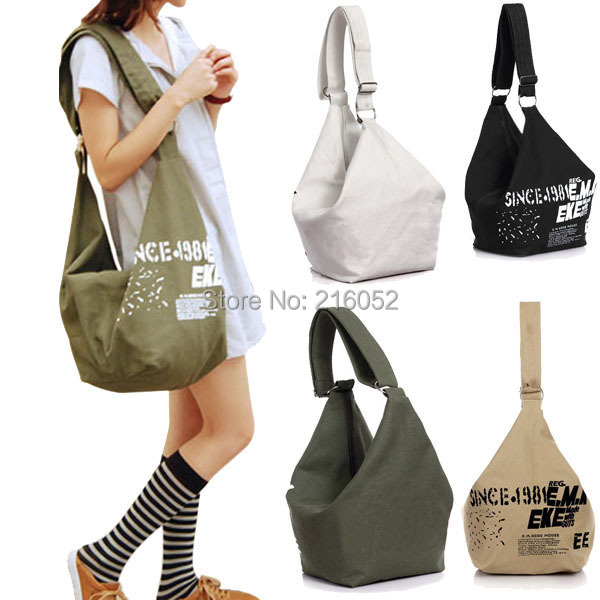2017 Female Fashion Casual Canvas Crossbody Tote Bag Las Hand Handbags Bolsas Femininas Shoulder For Women