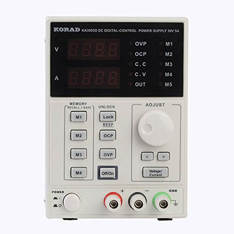 KORAD KA3005D high precision Adjustable Digital DC Power Supply 4Ps mA 30V/5A for scientific research service Laboratory korad ka3005d adjustable digital programmable dc power supply laboratory power supply 30v 5a multimeter probe for lab research