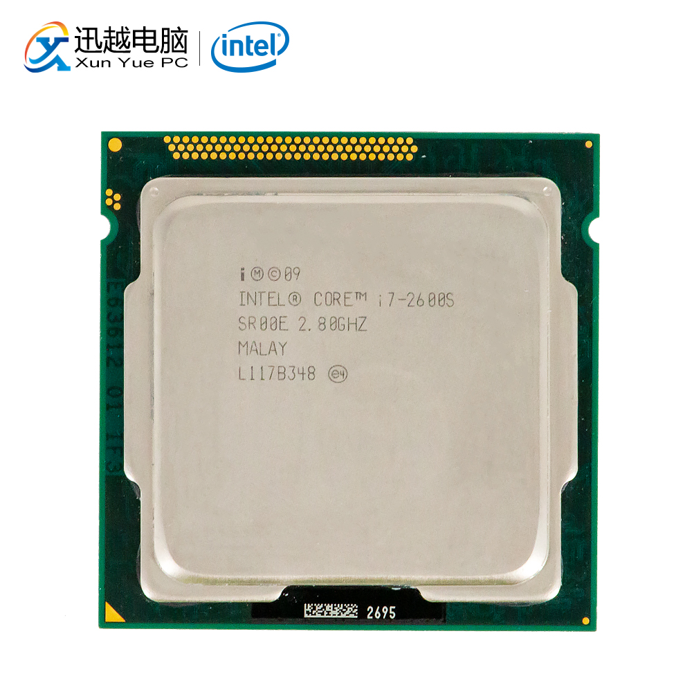 Intel Core I7-2600S Desktop Processor I7 2600S Quad-Core 2.8GHz 8MB L3 Cache LGA 1155 Server Used CPU