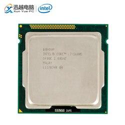 Intel Core i7 2600S pulpit procesor i7 2600 S Quad Core 2.8 GHz 8 MB L3 pamięci podręcznej LGA 1155 serwera używany procesor|Procesory|Komputer i biuro -