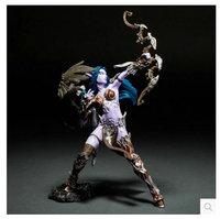 Night Elf Hunter Alathena Moonbreeze Sorna Figure wow collection model toy