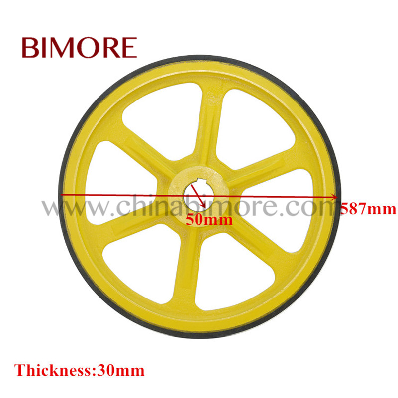 Escalator Friction Wheel OD587mm ID50mm Thickness 30mm escalator handrail friction wheel od587mm id433mm thickness 30mm
