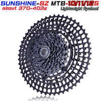 SUNSHNE MTB 11 Geschwindigkeit 11-50 t Kassette 365g Ultraleicht Fahrrad Freilauf 11 t Fahrrad Teile Berg Pelz shimano M9000 M800