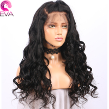 Eva Hair Lace Front Human Hair Wigs With Baby Hair Loose Wave Natural Color Brazilian Remy Hair Lace Wigs For Black Women