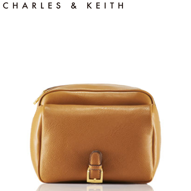 US $107 33  free shipping Charles keith women's buckle decoration small box  camera bag messenger bag ck2 90150123-in Shoulder Bags from Luggage & Bags