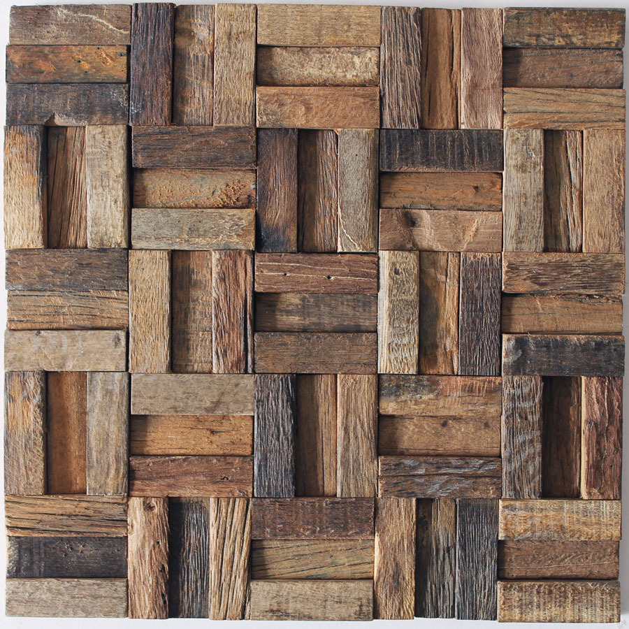 Wall Finishes Ideas Us 325 15 Rough Finish Mosaic Tiles Home Garden Home Interior Wall Design Ideas Weathered Old Boat 3d Wood New Pattern Walls Mosaic Tiles On