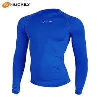 NUCKILY Winter Thermal Cycling Base Layers Men Women Cycling Underwear Climbing Hiking Running Sports Bicycle Base