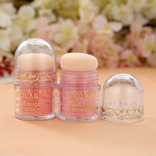 2015 Professional Hot Brand Fashion Beauty Makeup Cosmetic Blush Lovely Mushroom BB Blusher Powder Palette With Puff