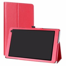 Case For 10.1″ Medion Lifetab X10605 Tablet Folding Stand PU Leather cover with Magnetic closure