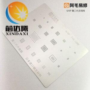 Image 4 - XINDAXI 1 CÁI/LỐC chất lượng cao bo mạch reballing tấm thiếc cho MT6735V MT6737V MT6753V I7 I7P 6 S 6SP 6 6 P