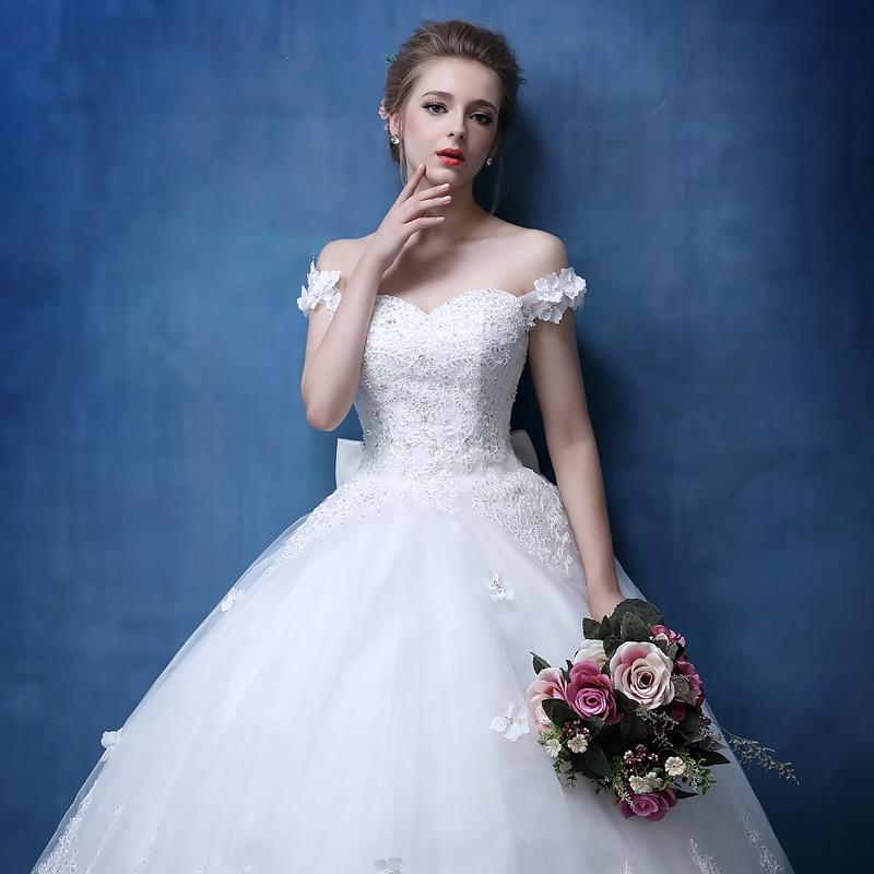 2018 Rochie de mireasa rochie de mireasa noua si rochie de mireasa cu - Rochii de mireasa - Fotografie 5