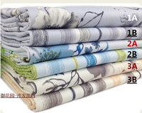 1 Meter 150cm Wide 6 Colors Top Grade Thickened Blended Linen Fabric With Floral Or Stripe