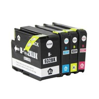 Full Ink 1Set Ink Cartridge For HP 932 932XL 933 933XL HP932 HP933 XL For HP