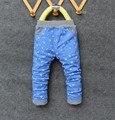 BibiCola весна осень дети брюки мальчики дети Повседневные Брюки синего цвета милый ребенок одежда весна брюки для мальчика тощий тонкий