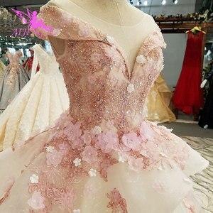 Image 3 - AIJINGYU טורקיה כלה שמלת שמלות הודי Sheer Robe אמא של הכלה במסיבה שני באחד שמלת כלה קטנה שמלות