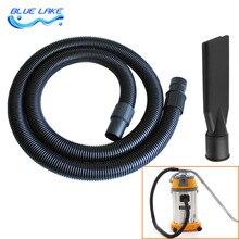 Industriële stofzuiger slang connector/borstel sets, lengte 2.4 m, voor Host interface 50mm, vacuüm cleaner onderdelen