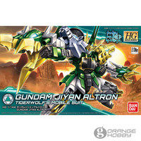 OHS Bandai HG Build Divers 011 1/144 Gundam Jiyan Altron TigerWolf's Mobile Suit Assembly Model Kits