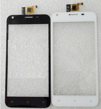 New touch screen For 5 Fourel Easy Smart F4 Outer Touch panel Digitizer Glass Sensor Replacement Free Shipping new original 5 for cubot p6 touch digitizer sensors outer glass black replacement parts free tracking for cubot p6 lcd touch