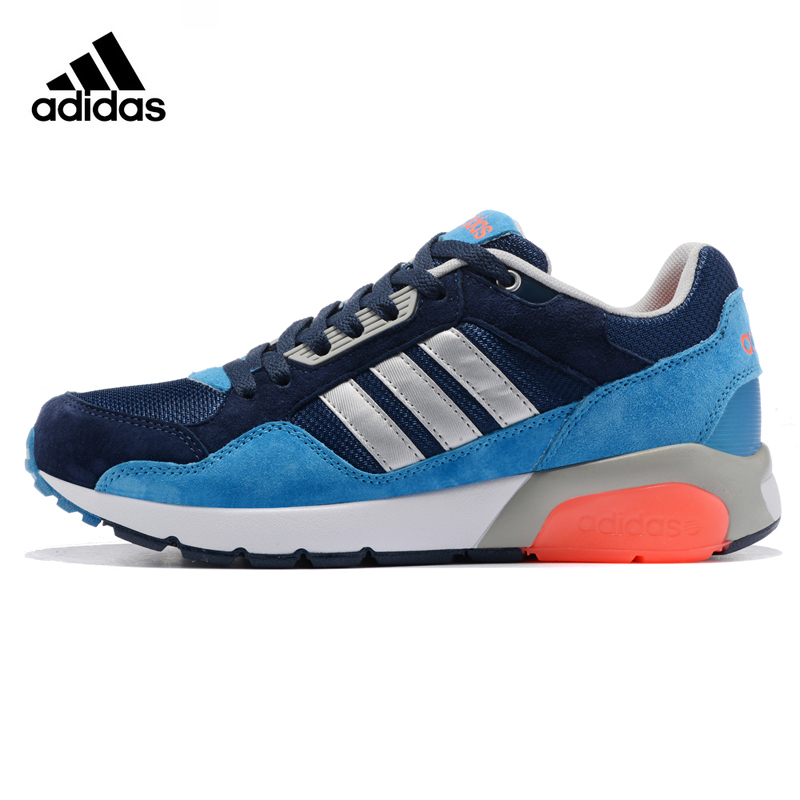 Adidas NEO Men's Running Shoes , Blue & Black, Shock-absorbing Breathable Impact Resistant Lightweight AW47866 water absorbing oil absorbing cleaning cloth