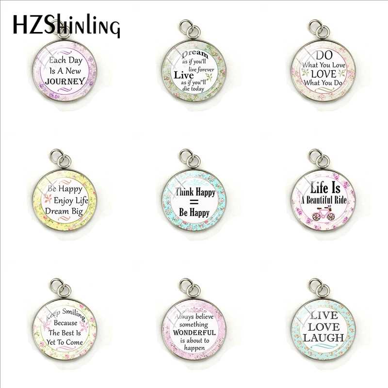 Do What You Love Love What You Do Pendants Proverbs Bible Verse Christian Quote Inspirational Jewelry Charms Pendant Gifts