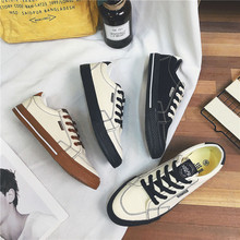 Men's Vulcanized Shoes Black White Sneakers Lace-up Casual Breathable Walking Canvas Shoes Breathable Comfortable Flat JN-10 jn 041205jn
