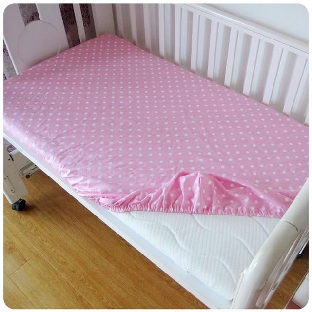 Hot Cotton Baby Ed Sheet Cartoon Crib Mattress Cover Elastic Around Kids Bed 120