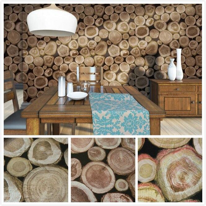 Verdickt 3D Holz Tapete Italienische Geprgte Pvc Wasserdichten Tapetenbahn Wohnzimmer Desktop Hintergrund Papel