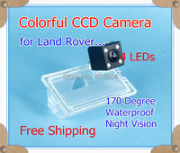 Free Shipping HD CCD With 4 LEDs Car Rear View Reverse Parking Camera For Land Rover
