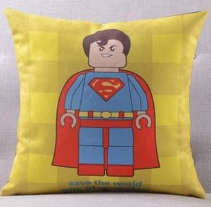 Америка супер герой Супермен Человек паук Железный человек чудо-подушка с изображением Женщины чехлы на диван сиденье бархатное покрытие для подушки наволочка - Цвет: C