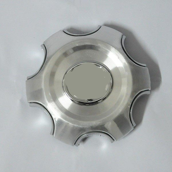 4pcs 140mm 95mm Silver Full Chrome Wheel center Hub Cap Alloy hubcaps - Auto Replacement Parts